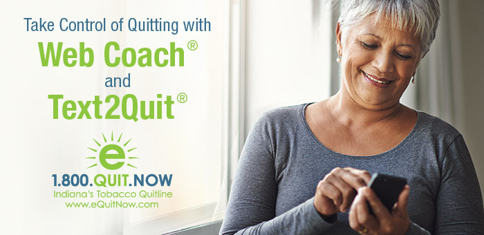 Quit Now Indiana offers user-friendly tools to help you quit